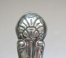 Poinçon de couture ARGENT MASSIF art nouveau arts & craft solid silver stiletto