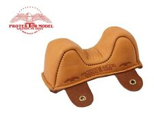PROTEKTOR MODEL - NEW #1 LEATHER FRONT OWL BAG SHOOTING REST MADE IN U.S.A.