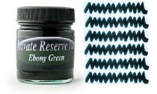 PRIVATE RESERVE - Fountain Pen Ink Bottle - EBONY GREEN -  66ml - New
