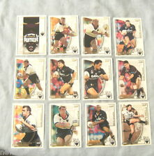 TEN SETS OF 2002  PENRITH PANTHERS  SELECT NRL CHALLENGE RUGBY LEAGUE CARDS