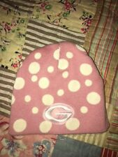 Baby Girls Georgia Bulldogs Green Bay Packers Hoodie Winter Hat Pink GUC