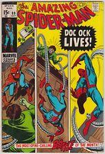 AMAZING SPIDER-MAN #89, MARVEL 1970, FN- CONDITION