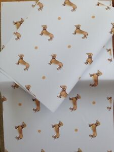 Sausage Dog Wrapping Paper Gift wrap For Smaller Gifts Read Description