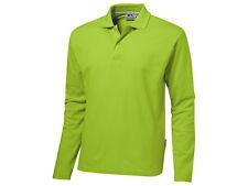 SLAZENGER Polohemd Polo Shirt Poloshirt Hemd S M L XL XXL grün langarm NEU
