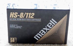 MAXELL DATA CARTRIDGE HS-8/112