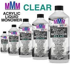 NAIL SCULPTING ACRYLIC LIQUID MONOMER CLEAR SALON HIGH QUALITY