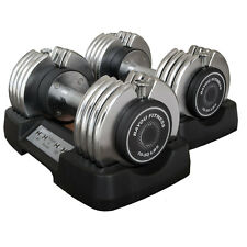 Bayou Fitness Pair of 50 lb. Adjustable Dumbbells BF-0250