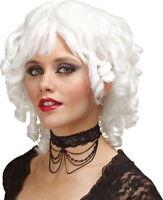 Morris Costumes Women's Vampire & Devil Ghost Doll White Wig. MR177163