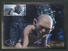 NZ MK HERR DER RINGE / LORD OF THE RINGS GOLLUM CARTE MAXIMUM CARD MC CM m122