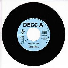 BOBBY LORD Rainbow Girl VG++ 45 RPM