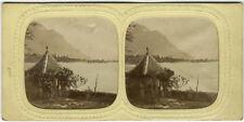 Photo Stéréo Albuminé Suisse Vers 1860/70