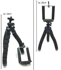 Handy Stativ 360° biegsam Tripod Halterung universal iPhone Samsung GoPro Handy