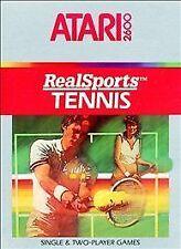 RealSports Tennis (Atari 2600, 1983)
