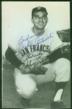 Original Autograph JSA of Johnny Antonelli of the San Francisco Giants