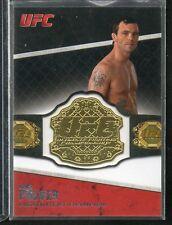 2011 Topps UFC Jen Pulver Championship Belt Plate Card #CB-JP NRMT