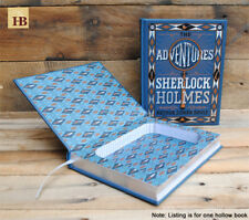 Hollow Book Safe - Sherlock Holmes - Blue Leather Bound Book Safe