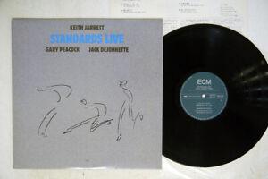 KEITH JARRETT TRIO STANDARDS LIVE ECM 25MJ 3536 Japan VINYL LP