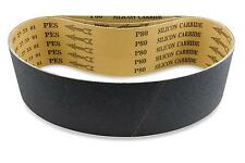 2 X 42 Inch 36 Grit Silicon Carbide Sanding Belts, 6 Pack