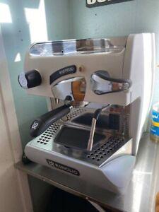 Rancilio Epoca S1 Espresso Machine - White With Nuova Simonelli grinder