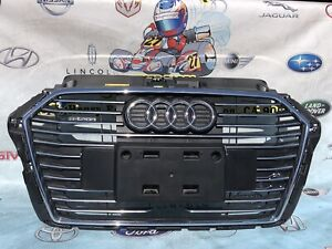 2017 2018 AUDI A3 E-TRON GRILLE GRILL COMPLETE OEM USED