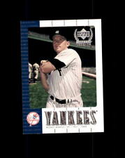 2000 Upper Deck Yankees Legends MICKEY MANTLE SAMPLE #NY7* (B)