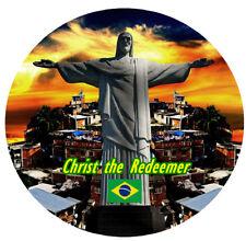 Christ the Redeemer, BRASILE - rotondo SOUVENIR CALAMITA FRIGO - Viste / regali