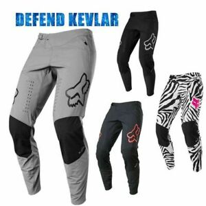 2020 Defend MTB BMX Pants Motorcycle Warm XC Cycling Pants Ride Mountain