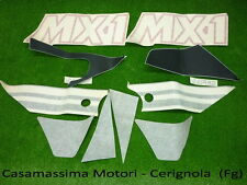 KIT DECALCO ADESIVI GILERA 125 MX1 ORIGINALE