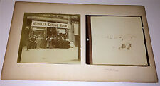 Antique Victorian Travel Photos On Board! Jubilee Dining Room W/ Camera, Beach!