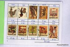 TIMBRES Carnet de Circulation ZIMBAWE RHODESIE DU SUD  voir les 12 photos GCA11