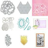 HO_ Metal Cutting Die Scrapbooking Card Making Album Decorative Embossing Craft