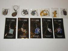 Loot Anime Exclusive Complete Set of 2016 Phone Charms FACTORY SEALED Loot Crate