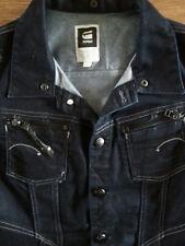 g-star fender hooded vest women's denim vest size L