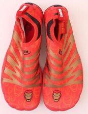 Marvel Comics Iron Man Water Shoes Aqua Beach Socks Boys's Kids Size 7 NWB