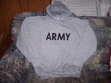 Mens Hoodie Gray Hoodie Gray Army Sweatshirt Army Hoodie XL Hooded Sweatshirt