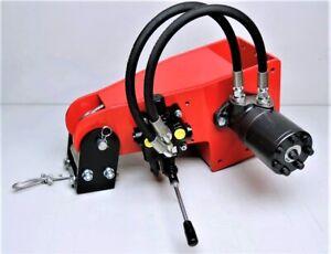 Hydraulische Seilwinde HAW1700 mit manuellem Ventil
