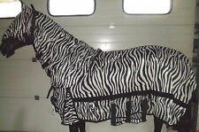 Horka Fliegendecke, incl. abnehmbarem Halsteil + Fliegenmaske, Zebra, Gr. 90 cm