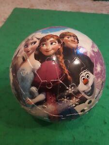 Disney Frozen 72 Piece 3D Jigsaw Puzzle, used but VGC.