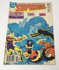 The Daring New Adventures of Supergirl #8 Comic Book DC Doom Patrol 1983 Good