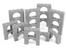 Lego Arche 4x2 (2x4) x20 pièces # Gris clair # Pont Fenêtre Mur Château +