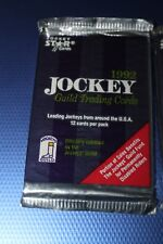 1992 Star Cards Jockey Pack - 12 cards - Unopened Ex Pat Day Signed Card Auto