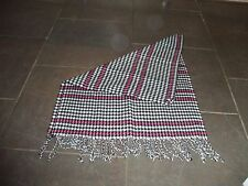 "LADIES SCARF  SHAWL THROW UNUSED GIFT BY GEORGE VERY PRETTY 22"" X 60"""