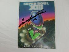 Terry Bradshaw Signed Super Bowl XIII Program Pittsburgh Steelers BAS COA NFL