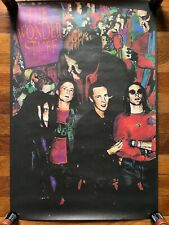 The Wonder Stuff Rare original promo poster