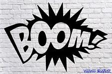 Etiqueta del vinilo Parachoques Boom Ventana de Coche Pegatinas Jdm Vw Gracioso