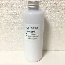Muji Emulsion Moisturizing Milk High Moisture 400mL for Sensitive Skin Japan F/S