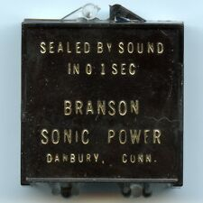 Branson Sonic Power 1940 Lincoln Wheat Cent Sealed by Sound Danbury, Connecticut