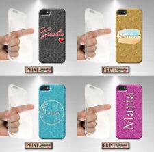 Cover per,Iphone,STAMPATA EFFETTO glitter,silicone,morbido,originale,custodia
