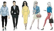 NANCY'S SIGNATURE COLL DIE CUTS / TOPPERS ~ THE MILLENNIALS