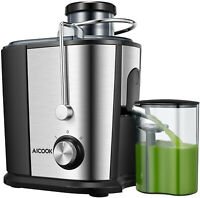 Juicer Centrifugal Commercial Wide Mouth Extractor Fruit Vegetable Juice Kitchen